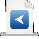 file document paper blue g15291