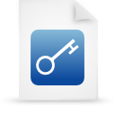file document paper blue g16237 Png Icon