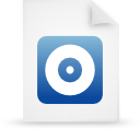 file document paper blue g16265 Png Icon