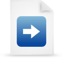 file document paper blue g16483 Png Icon