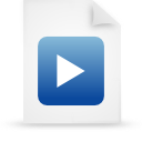 file document paper blue g17169 Png Icon