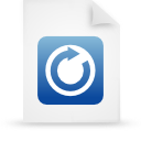file document paper blue g18390 Png Icon