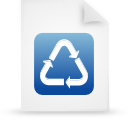 file document paper blue g18935 Png Icon