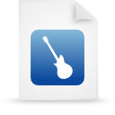 file document paper blue g19646 Png Icon