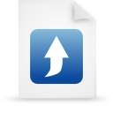 file document paper blue g21034 Png Icon