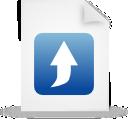 file document paper blue g21034