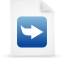 file document paper blue g21046 Png Icon