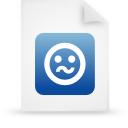 file document paper blue g21273 Png Icon