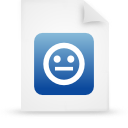 file document paper blue g21299 Png Icon