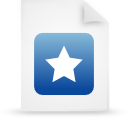 file document paper blue g21455 Png Icon