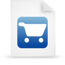 file document paper blue g21761 Png Icon