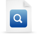 file document paper blue g38774 Png Icon
