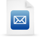 file document paper blue g38856 Png Icon