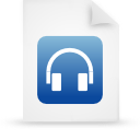 file document paper blue g39009 Png Icon