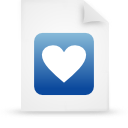 file document paper blue g9660 Png Icon