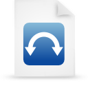 file document paper blue g9806 Png Icon