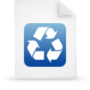 file document paper blue g9937 Png Icon