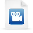 file document paper blue g9948 Png Icon