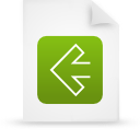 file document paper green g11530 Png Icon