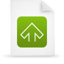 file document paper green g11542 Png Icon