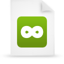 file document paper green g11788 Png Icon