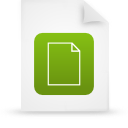 file document paper green g11822 Png Icon