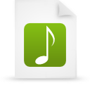 file document paper green g11853 Png Icon
