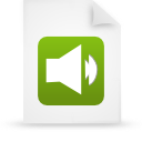 file document paper green g11908 Png Icon