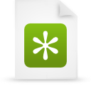 file document paper green g11935 Png Icon