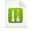 file document paper green g11957 Png Icon