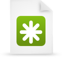 file document paper green g12443 Png Icon