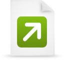 file document paper green g12771 Png Icon