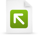 file document paper green g12823 Png Icon