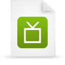 file document paper green g12896 Png Icon
