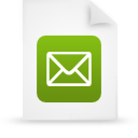file document paper green g12920 Png Icon