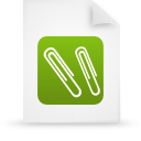 file document paper green g12946 Png Icon