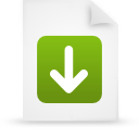 file document paper green g13247 Png Icon