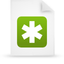 file document paper green g13253 Png Icon