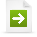 file document paper green g13283 Png Icon