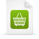 file document paper green g13303 Png Icon