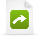 file document paper green g13424 Png Icon