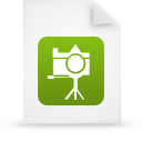 file document paper green g13426 Png Icon