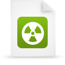file document paper green g13443 Png Icon