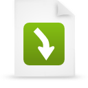 file document paper green g13460 Png Icon