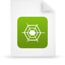file document paper green g13494 Png Icon