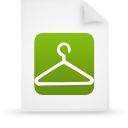 file document paper green g13861 Png Icon