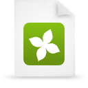 file document paper green g14132 Png Icon