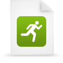 file document paper green g14294 Png Icon