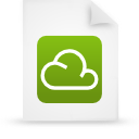 file document paper green g14303 Png Icon