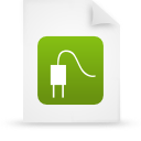 file document paper green g14363 Png Icon